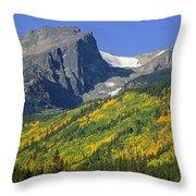310221-hallett Peak In Autumn  Throw Pillow
