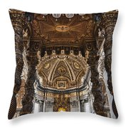 Hallowed Beauty Throw Pillow