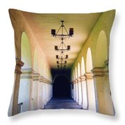 Hallowed Halls Throw Pillow