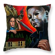Halloween 1978 Throw Pillow