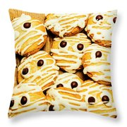 Halloween Baking Treats Throw Pillow