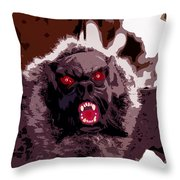 Halloween Bat Throw Pillow