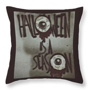 Halloween. Throw Pillow