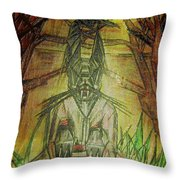 Halloween Character Throw Pillow