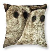 Halloween Ghosts Boo Throw Pillow