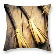 Halloween Witch Craft Throw Pillow