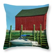 Hall's Harbour Throw Pillow