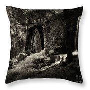 Halls Mill Throw Pillow