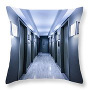 Halls Of Mystery Throw Pillow