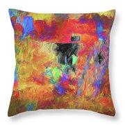 Hallucination 7976 Throw Pillow