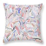 Hallucination Throw Pillow