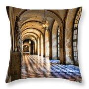 Hallway Versailles  Throw Pillow