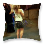 Halo Hool Frolic Throw Pillow
