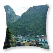 Halong Bay 02 Throw Pillow