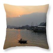 Halong Bay 8 Throw Pillow