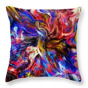 Halos And Passions. Throw Pillow