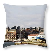 Halsingborg 1 Throw Pillow