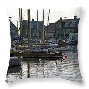 Halsingborg Marina 1 Throw Pillow