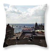 Halsingborg Sweden 2 Throw Pillow