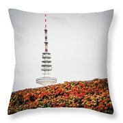 Hamburg - Tv Tower Throw Pillow