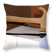 Hammer 4 Throw Pillow