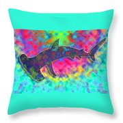 Hammer Head 2 Throw Pillow
