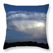 Hammer Head And Moon Throw Pillow