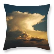 Hammerhead Cloud Throw Pillow