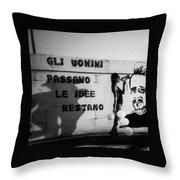 Hammerhoi Throw Pillow
