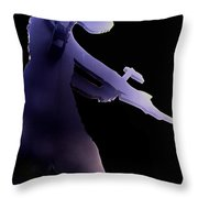 Hammering Man 2 Throw Pillow