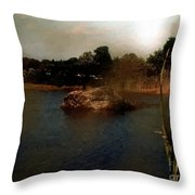 Hammonasset Sunset Throw Pillow