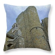 Hammond Castle Detail - Gloucester Ma Throw Pillow