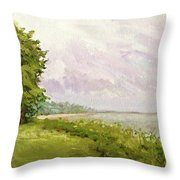 Hampton Bays Throw Pillow