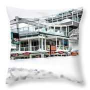 Hampton Beach 2015 Throw Pillow