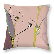 Hamptons Blush Throw Pillow