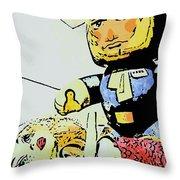 Han Solo Saves The Girl Throw Pillow