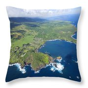 Hana Aerial Throw Pillow
