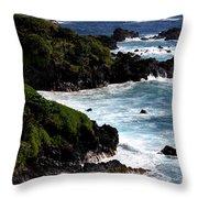 Hana Shore Throw Pillow