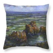 Hana Side Early Evening Throw Pillow