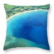 Hanalei Bay Throw Pillow