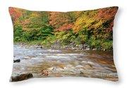 Hancock Branch - White Mountains New Hampshire  Throw Pillow