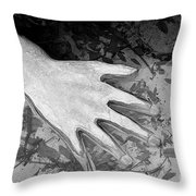 Hand Down Throw Pillow