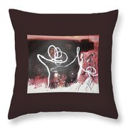 Hand In Hand2 Throw Pillow