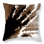 Hand Out Throw Pillow