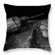 Hand Tools 3 Throw Pillow