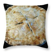Handcrafted Apple Pie Throw Pillow