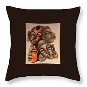 Handmade Sand Painting Throw Pillow