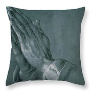 Hands Of An Apostle Throw Pillow