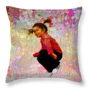 Hang Time Throw Pillow
