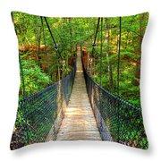 Hanging Bridge Throw Pillow